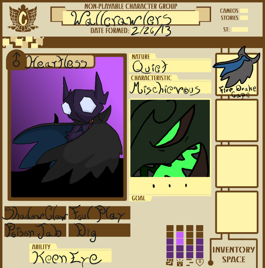 Team Wallcrawlers NPC by Sableyeguy