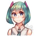 Short Hair Miku