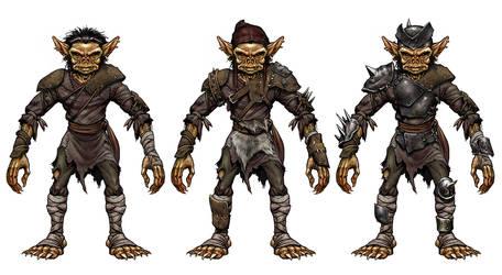 Goblin armor set by Brenze