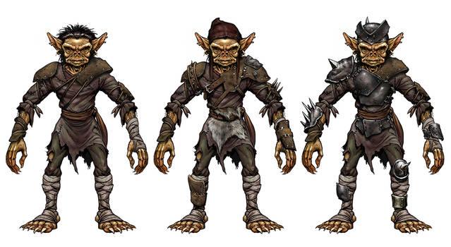 Goblin armor set