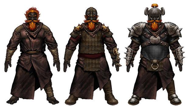 Fire Giant armors