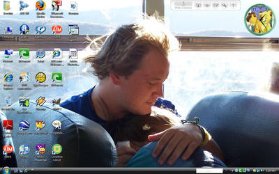 My Current Desktop-Me and Brae