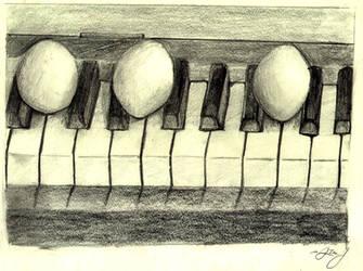 Piano Eggstravancia by HuntressGuya