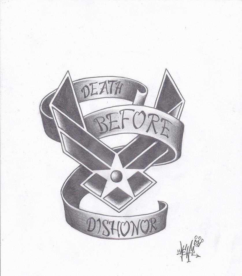 Wonderful Air Force Tattoo By Nemothablak ...