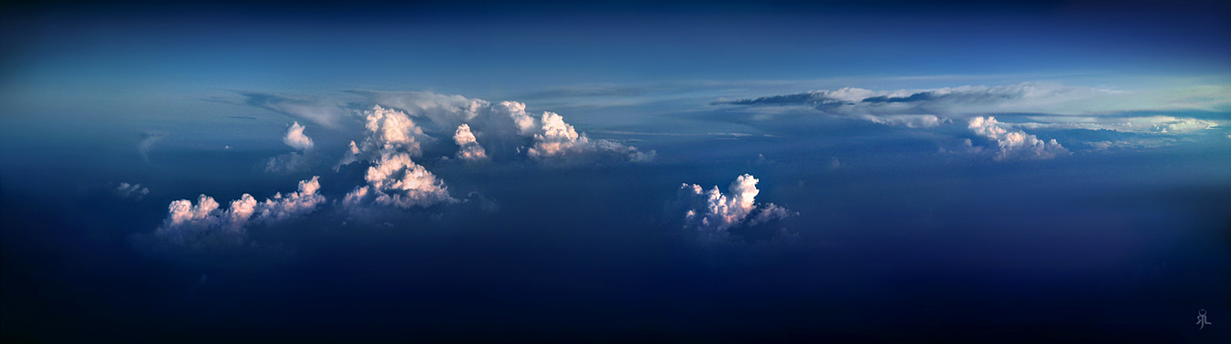 Sea of cloud by romainjl