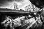 Hong Kong human flow