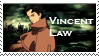Vincent Law stamp by irenukia