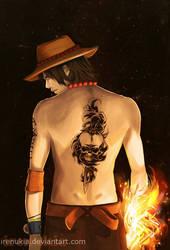 Fire Fist Ace by irenukia
