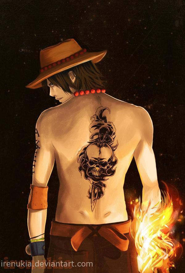 Fire Fist Ace by irenukia on deviantART