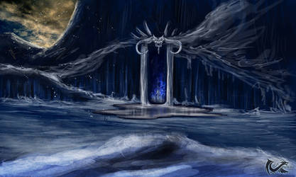 Ice City Entrance by onikafei