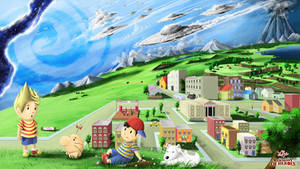 harmony of heroes: Mother/earthbound