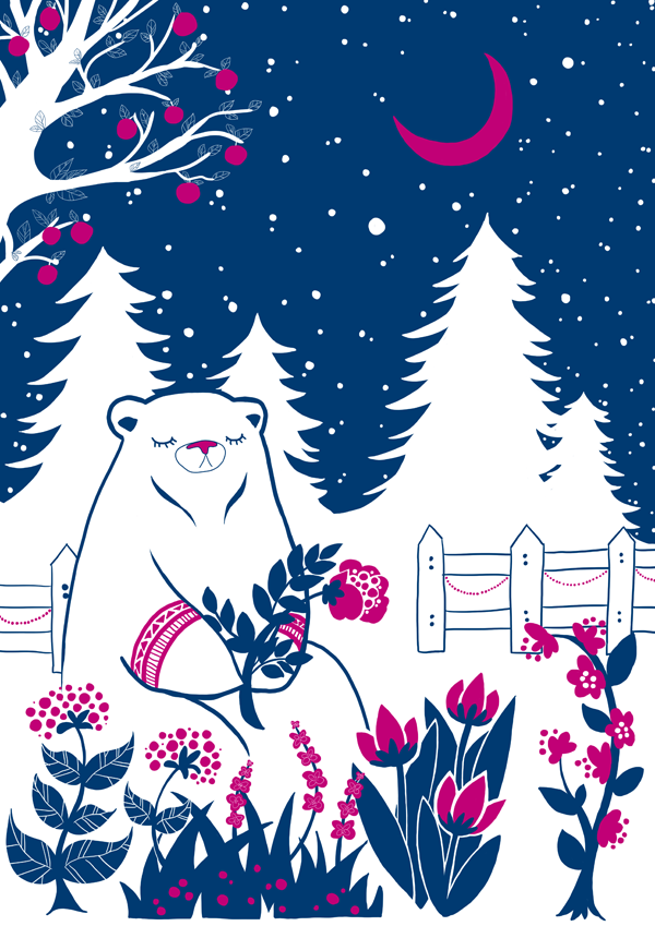A bear florist by nei-no