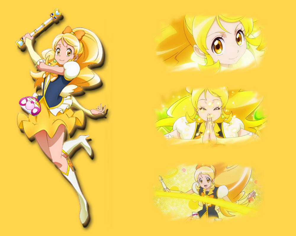 Cure Honey Wallpaper by KarenNuilCoco