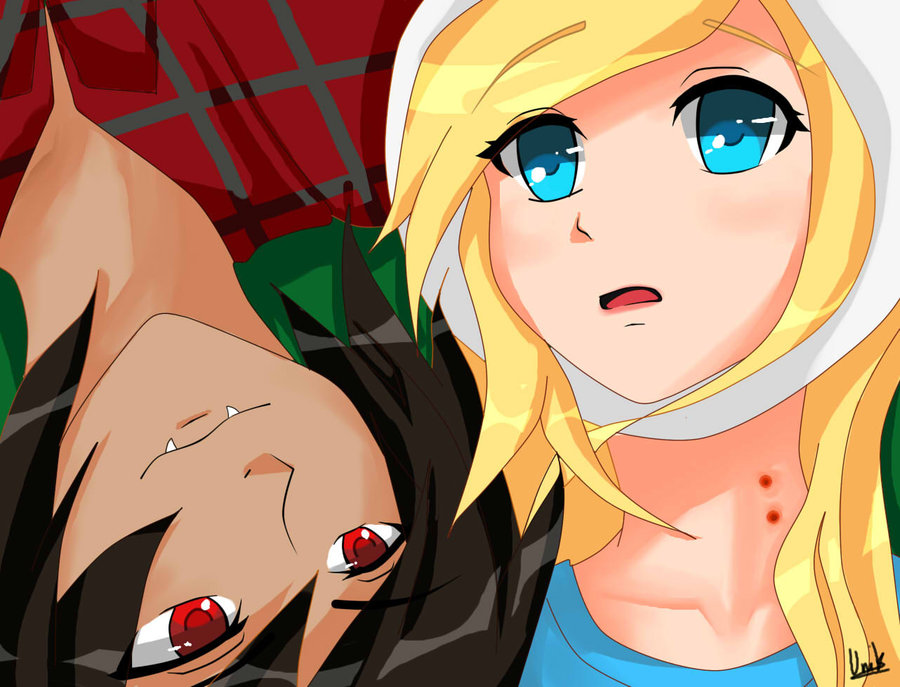 Marshall Lee And Me Fionna By Akinamegzz23 On DeviantArt