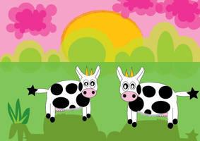 cows by LeftInTheDark