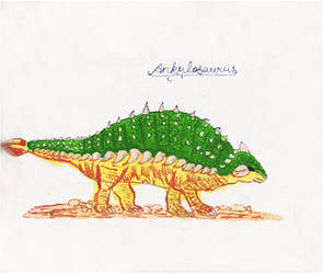 Ankylosaurus Dinosaur by GoddyDesigns