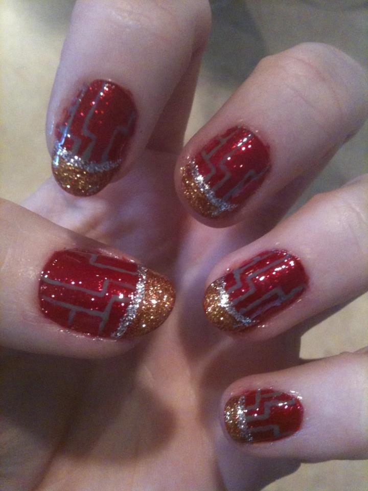Iron Man nails by Shidobukatsu on DeviantArt
