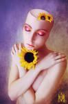 Where Sunflowers Grow by AbaddonArt