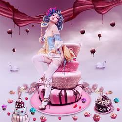 Let Them Eat Cake by AbaddonArt