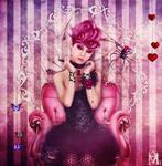 The Black Widow by AbaddonArt
