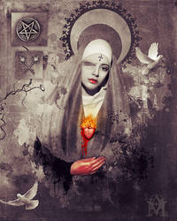Hail Mary... by AbaddonArt