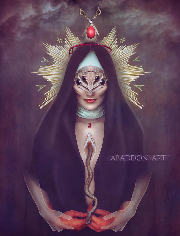 Sacred Whore by AbaddonArt