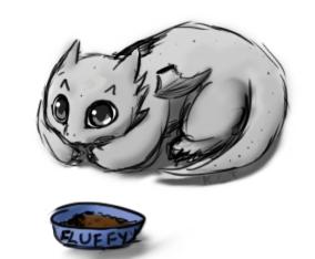 KittyDragon by RaiKitamatsu