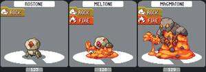 rostone's fire evo line