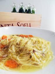 Capelli d'angelo Soup
