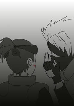 Kakashi whisper
