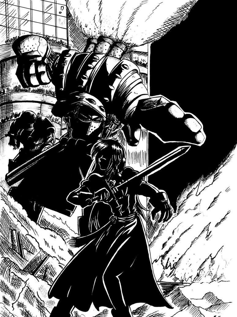 Miaka vs Executioner BW by Thurosis