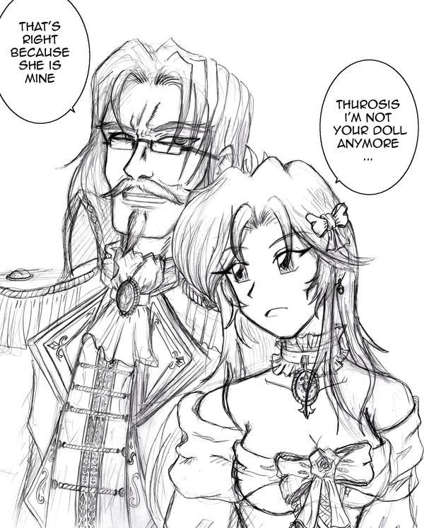 Viscount Tytania and Miaka by Thurosis