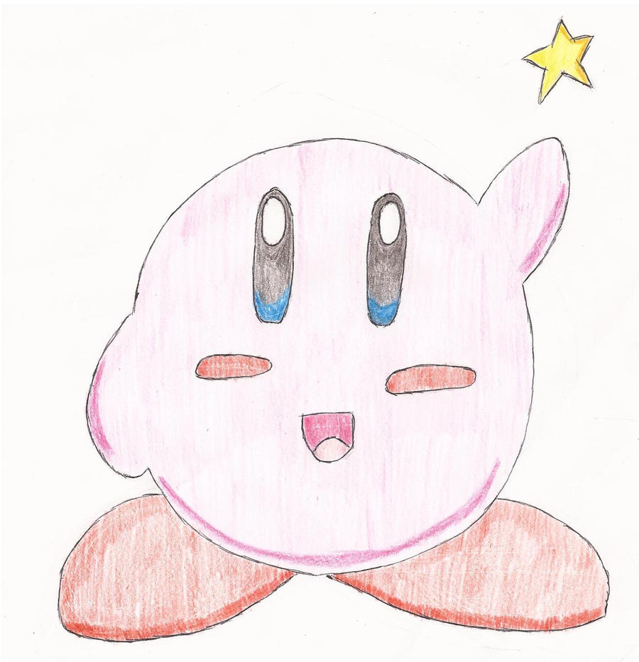 Kirby by Darkgatomon12