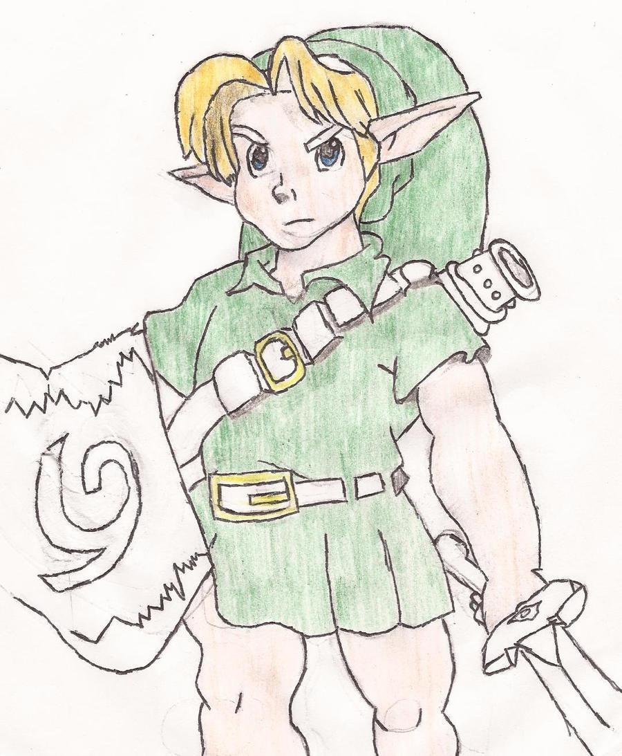 Link by Darkgatomon12