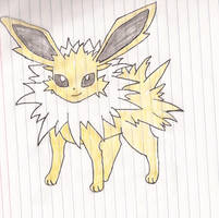 Jolteon by Darkgatomon12