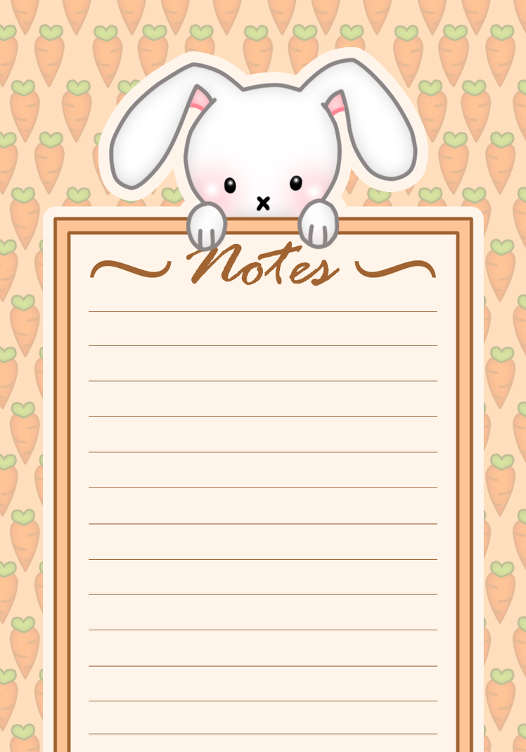 Memo Pad Design. by Heenawter on DeviantArt