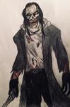 Goretober Day 18: Jeff the Killer comic design