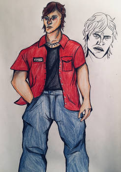 Dawn Project Vol. 1 character ref: Joseph Wayne