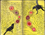 Art Journal - Bird Circles