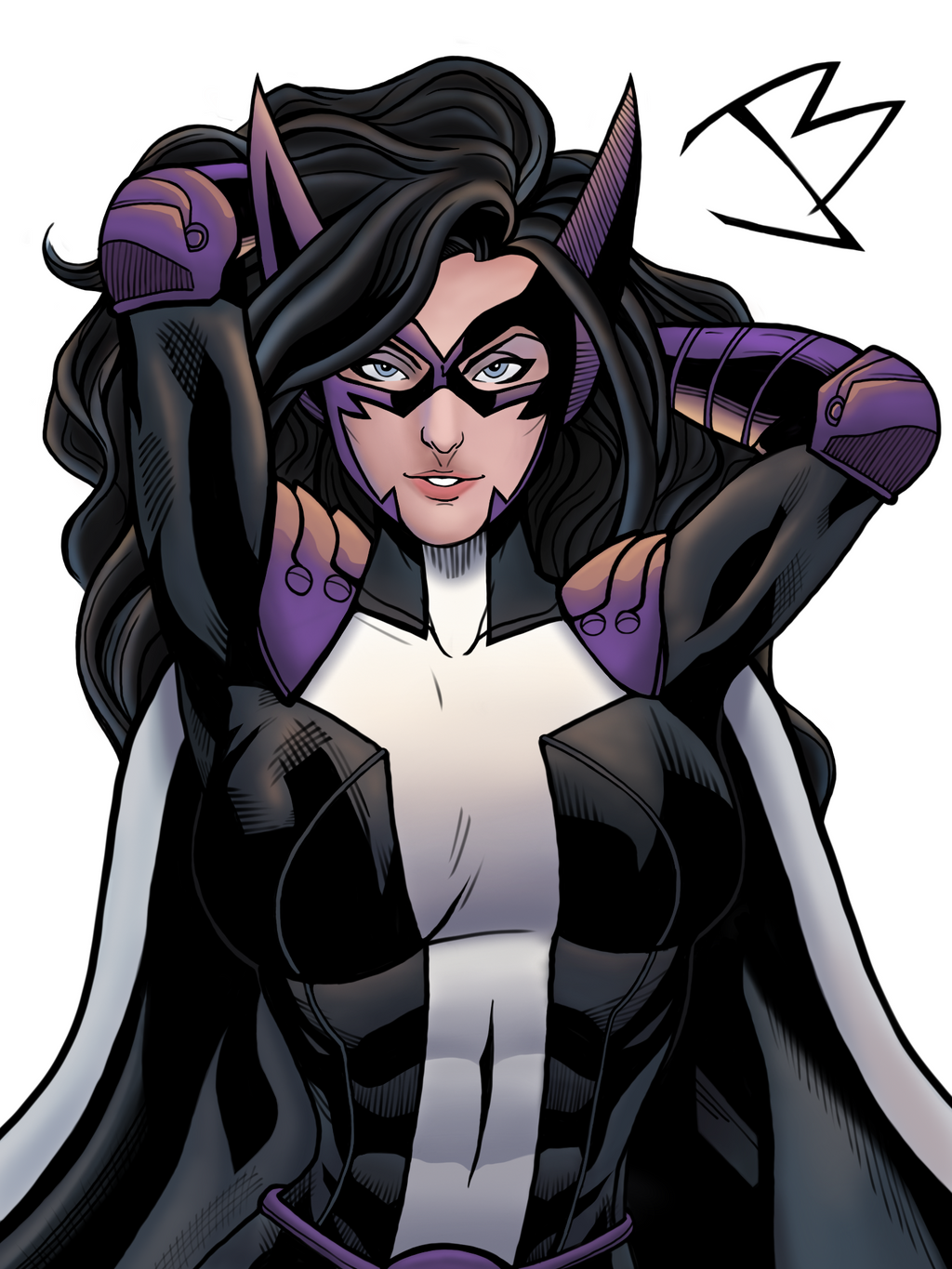 Huntress helena wayne by the great ultron on deviantart