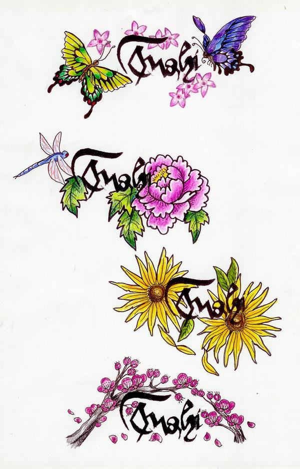 Fushi 2 - dragonfly tattoo