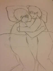 Cuddle session with Nii-san by Shnark
