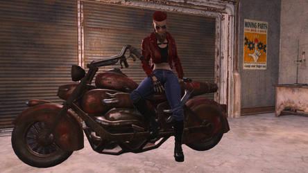 Wasteland biker