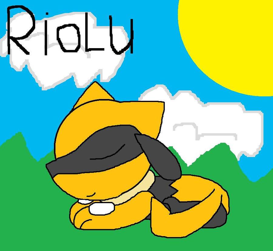 Shiny Riolu by pokemonlpsfan on DeviantArt