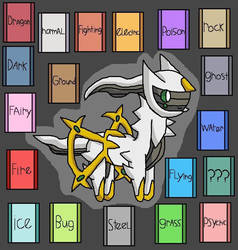 Arceus God Of Pokemon by pokemonlpsfan
