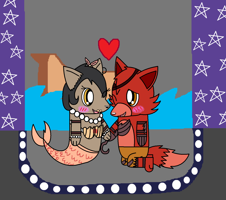 Fnaf Chibi Foxy And Mary By Pokemonlpsfan On Deviantart
