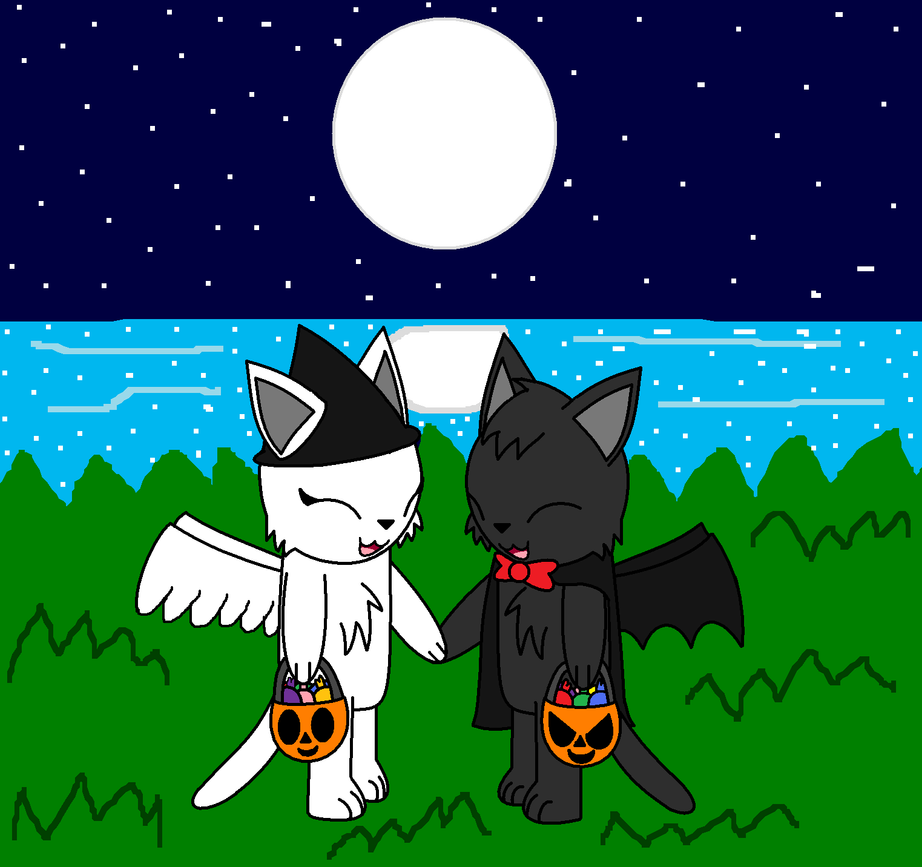 kitsune257's halloween request by pokemonlpsfan