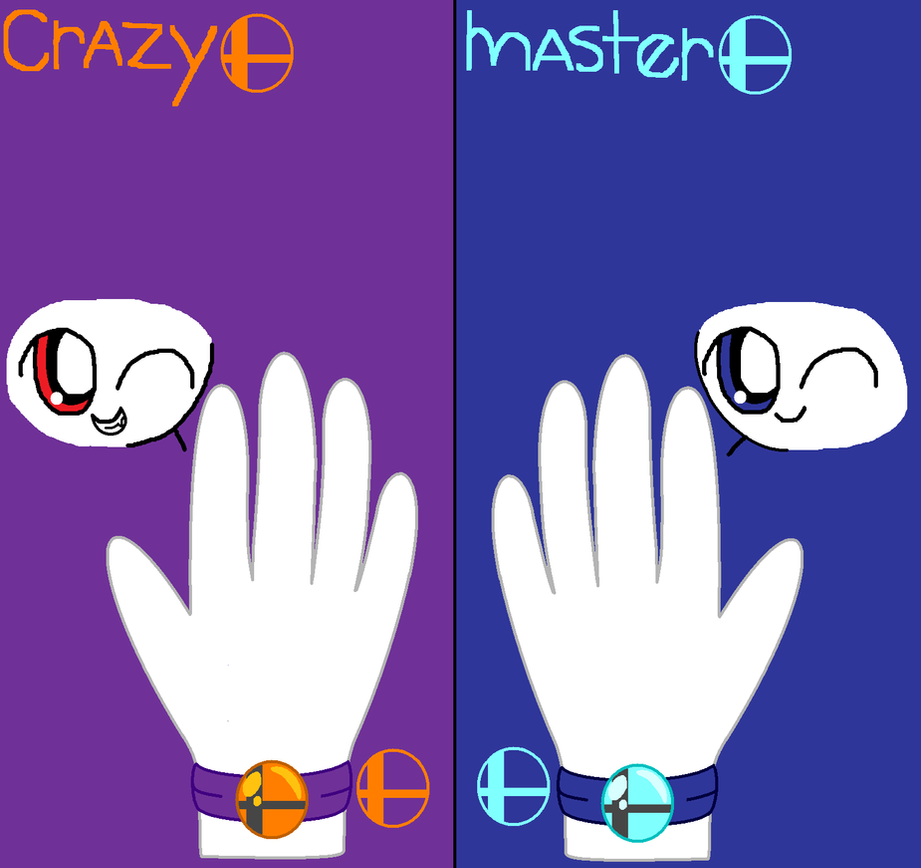 Master And Crazy's Primal Smash Orbs by pokemonlpsfan