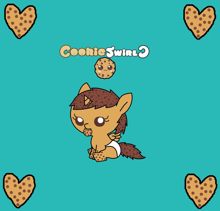 Cookie Swirl C As A Baby Pony by pokemonlpsfan on DeviantArt