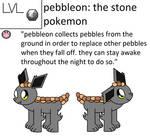 Pebbleon Pokedex Entry by pokemonlpsfan